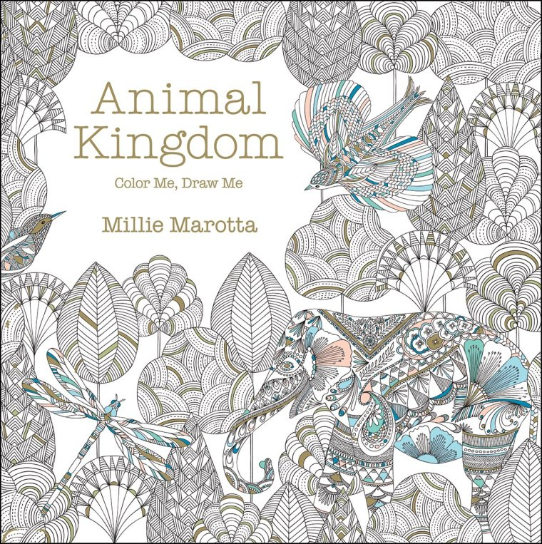 For More Information On This Book And Details How I Coloured The Drawings Please See My Post Review Animal Kingdom