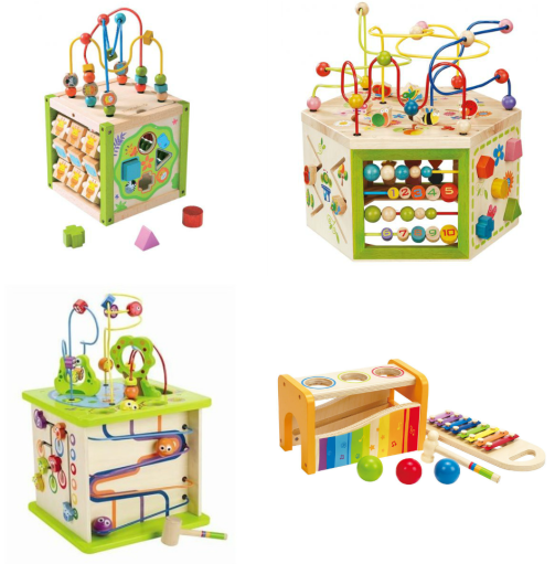 Eco Toys For 12 24 Month on everearth first multi play activity cube