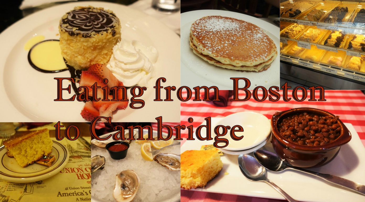 Eating from Boston to