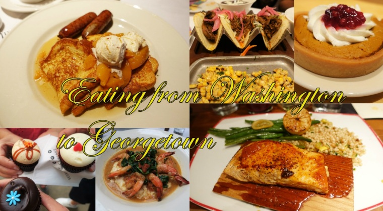 Eating from Washington to