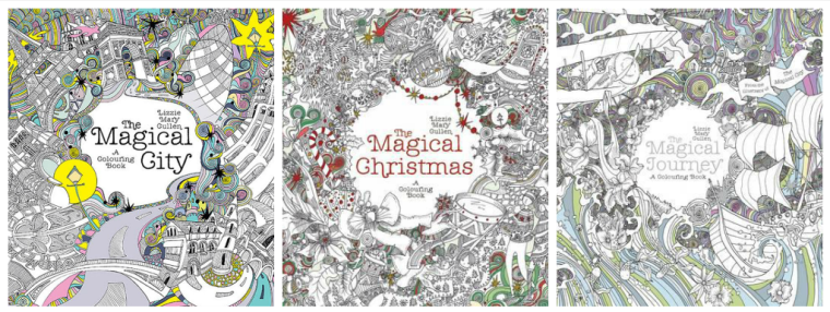 She Then Went On To Publish The Magical Christmas A Colouring Book 2015 And Journey 2016 For More Information Scroll