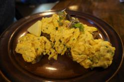 Scrambled Eggs on 5 Grain Bread