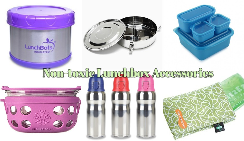 Non Toxic Lunchbox Accessories Live Eat Colour
