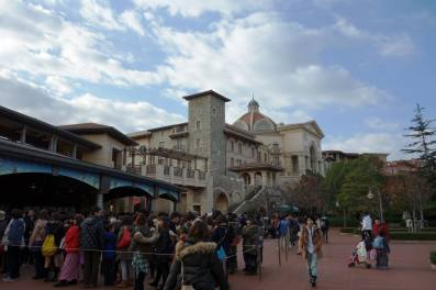Outside DisneySea
