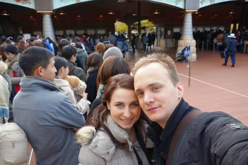 Outside DisneySea