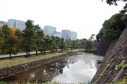 Hakucho-bori Moat