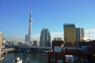 Roof top view from Asakusa