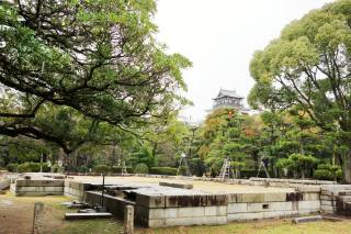 Ruins of Hiroshima Imperial Military Headquarters