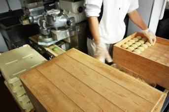 Mochi making