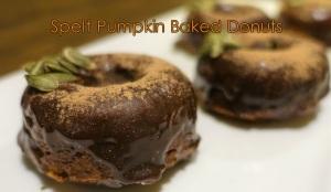 Spelt Baked Donuts
