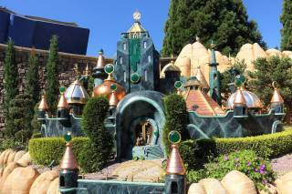 The Emerald City and the Witch's Castle from The Wizard of Oz