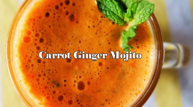Carrot Ginger Mojito