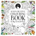 Kuwi's Creative Colouring Book: For Big and Small People by Kat Merewether