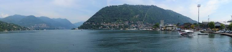 View from Passeggiata Villa Olmo