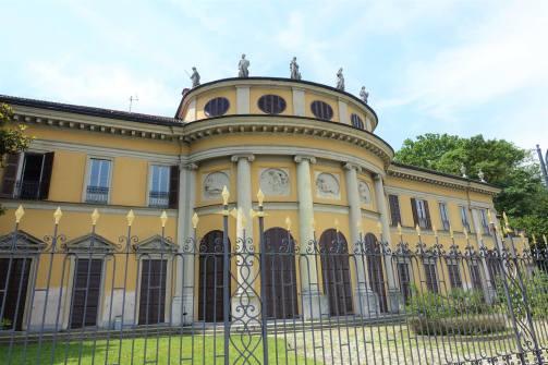 Villa Saporiti 'la Rotono', Passeggiata Lino Gelpi