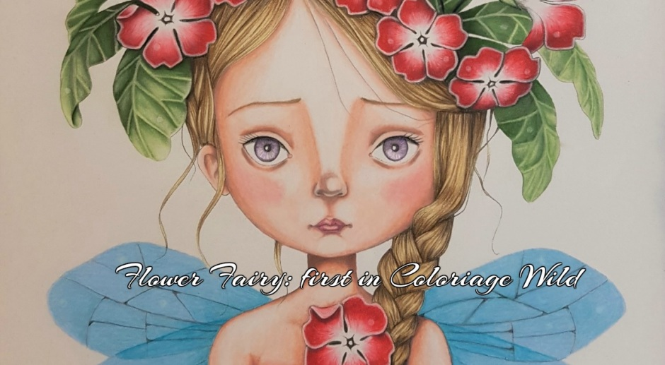 Flower Fairy First In Coloriage Wild Live Eat Colour