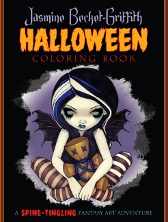 halloweencoloringbookfrontcover