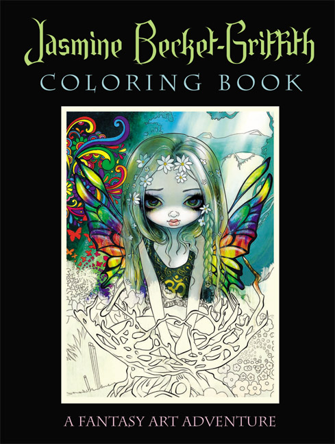 JasmineBecketGriffithColoringBook