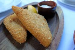 Breaded cheese from Pirot