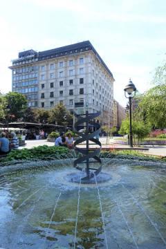 DNA Fountain, Republic Square
