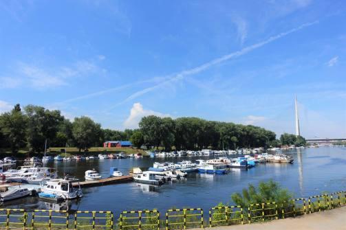 Docks ' Ada Ciganlija'