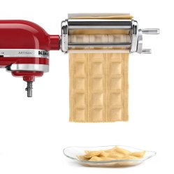 minimalist-kitchen-style-red-artisan-kitchen-aid-stand-alone-pasta-maker-6-piece-kpex-pasta-roller-attachment-kenwood-chef-circlip-beater-shaft-assembly-power-hub-direct-appl