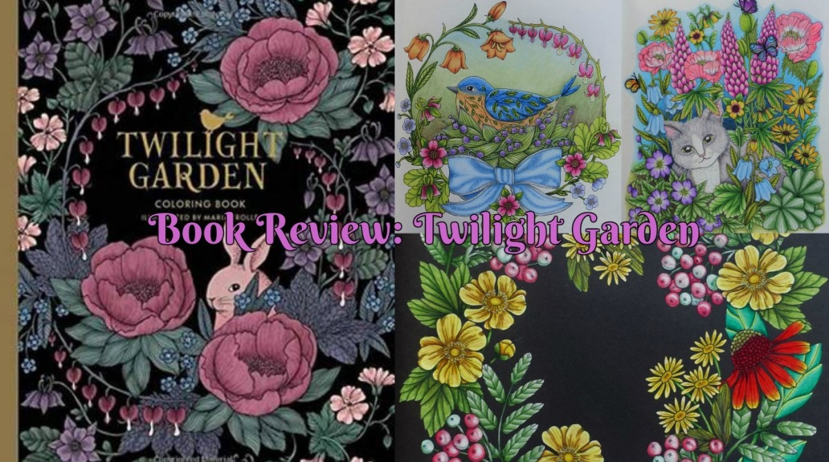 Book Review Twilight Garden Blomster Mandala