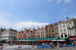 The old guild houses, Grote Markt