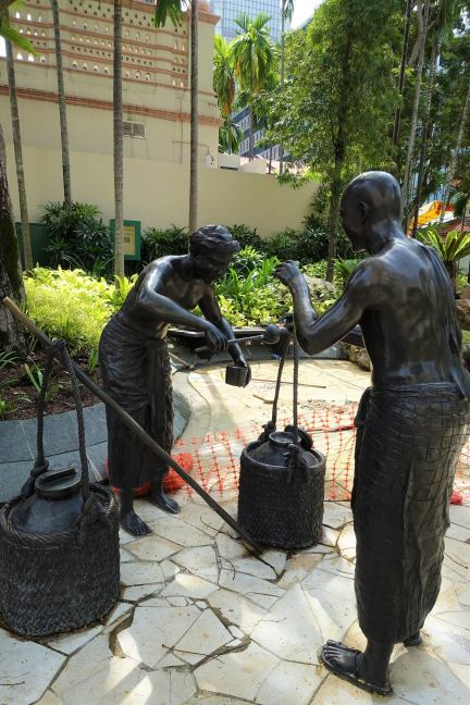 Indian Settlers of Telok Ayer
