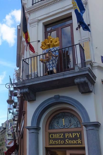 Bij Chez Papy, Rue de la Madeleine