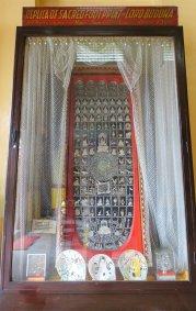 Replica of Sacred Foot Print of Lord Buddha