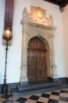 Brugge City Hall, Burg Square