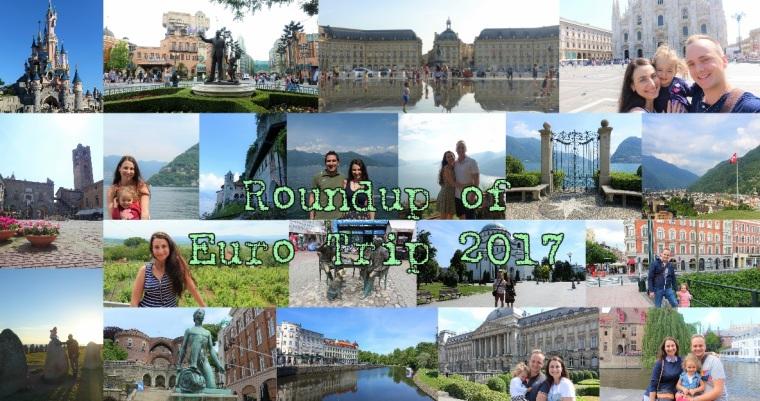 Roundup Euro Trip 2017