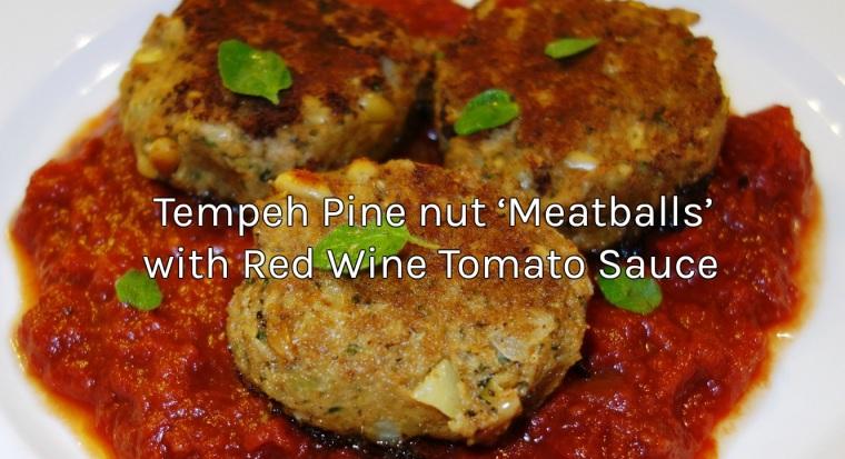 Tempeh Pine nut