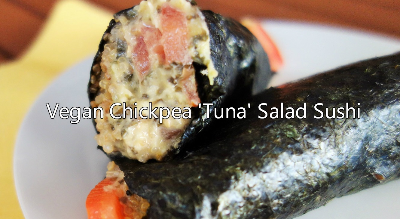 Vegan Chickpea Sushi