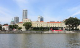 Raffles Landing Site Jetty & Asian Civilisations Museum