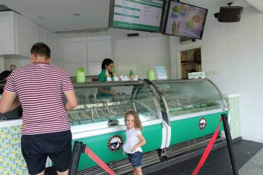 Azabu Sabo Ice Cream, Clarke Quay Central