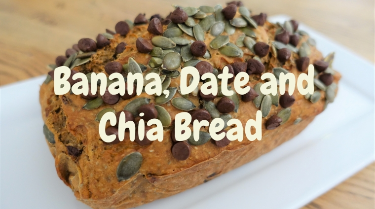 Banana Date Chia Bread