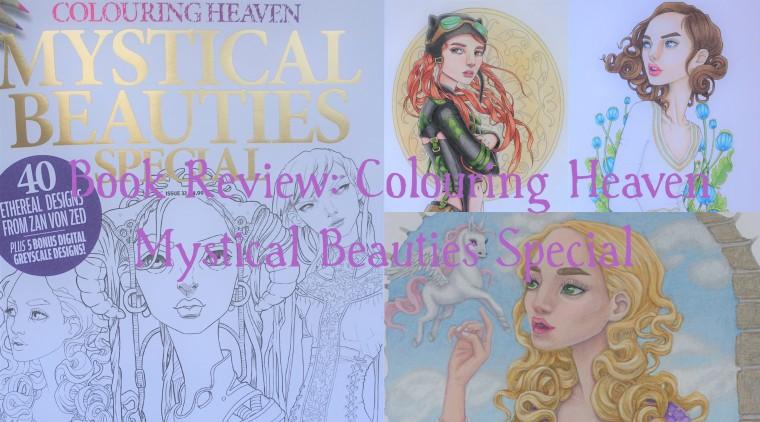 Colouring Heaven Mystical Beauties