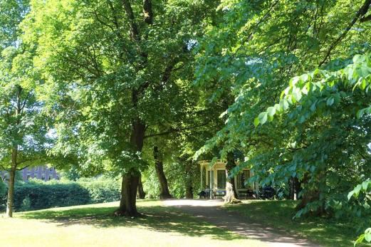 Lysthuset, Dronningparken