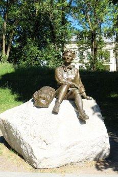 Queen Sonja, Princess Ingrid Alexandra sculpture park