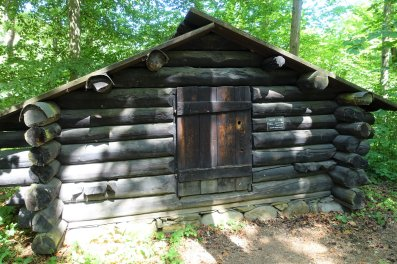 176 Lumberman's hut