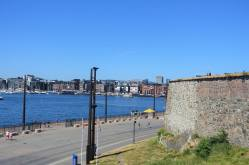 View of Oslo Fjord from Prince Carl's Baston