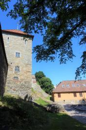 The Virgin Tower and Barracks