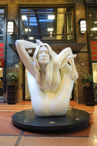 Myth (Sphinx) - Kate Moss by Marc Quinn