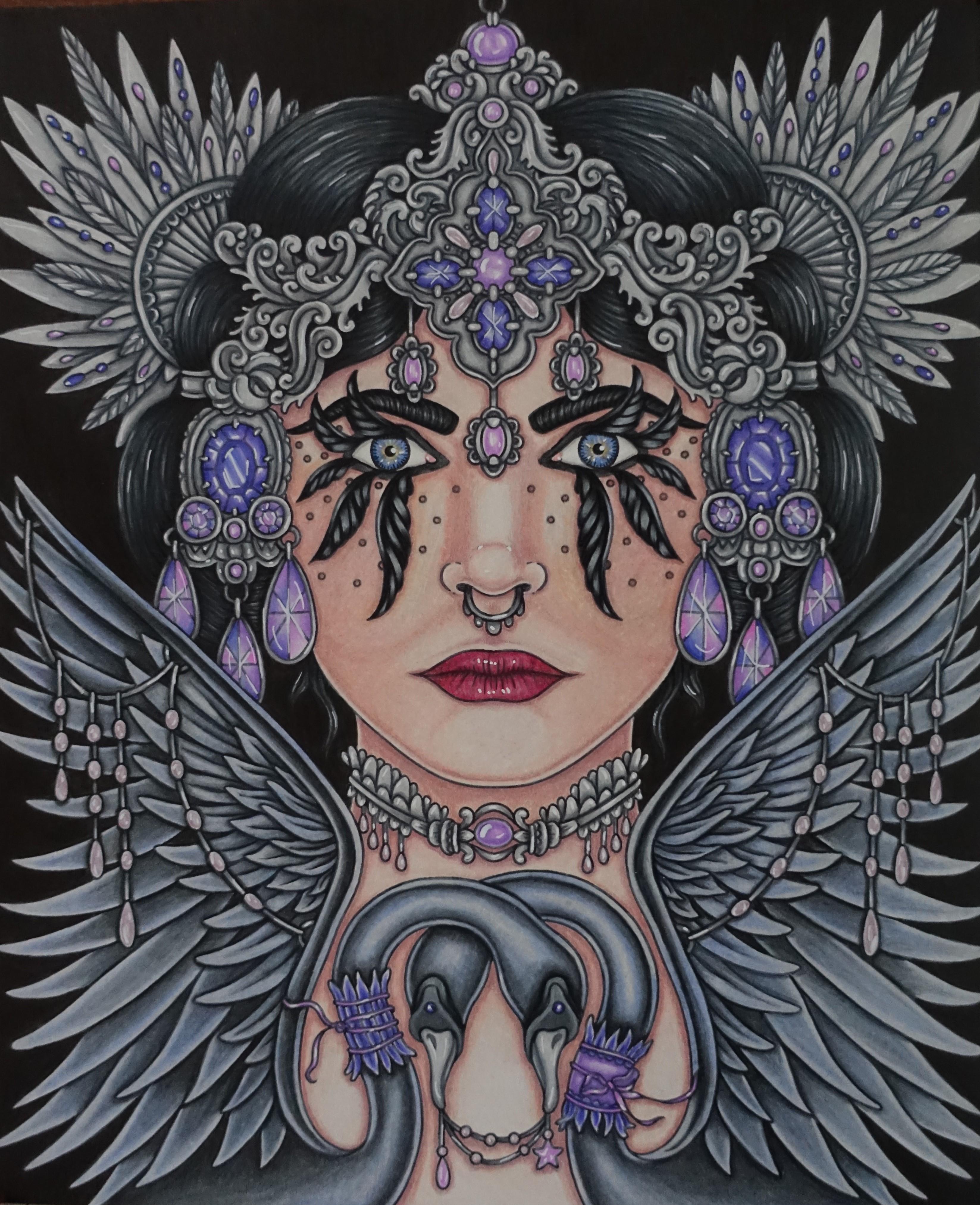 Smyckeskrinet Swan