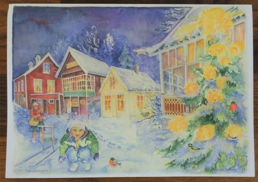 Card by Bjørg Bjøberg