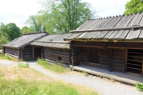 Fähus, Stall, Bastu - Cowshed, Barn, Stable