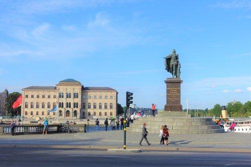 Karl XIV Johans Statyn, Gamla Stan