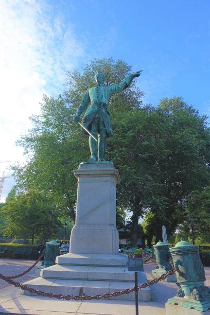 Karl XII Statue, Kungsträdgården